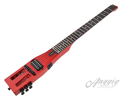 Anygig E-Gitarre Traveler Gitarre 24 Bünde Full Scale Matt Cherry