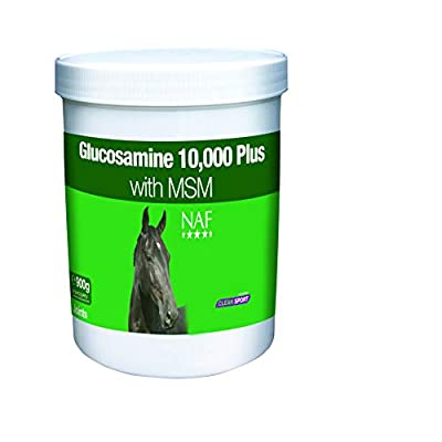 NAF Equine Equine 5032410125726 Glucosamine 10000 Plus - 900 Gramm