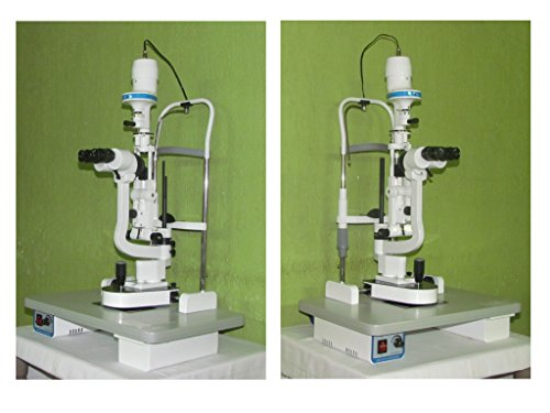 Microscopio HAAG Streit de 2 pasos con todos los accesorios estándar