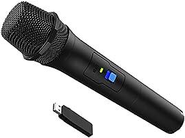 【コードレズ】Switch用 カラオケマイク ワイヤレスマイク 良い音質 USBマイク 無線タイプ カラオケ For Nintendo Switch ニンテンドー スイッチ/PS4/PS3/PS5/XBOX ONE/Wii uに対応