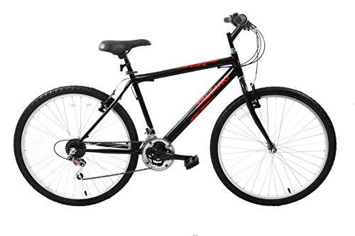 Ammaco. Salcano Excel 26' Wheel Mens Adults Mountain Bike Rigid 18' Frame Black 21 Speed