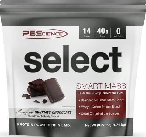 Select Smart Mass Protein Powder Drink Mix, Gourmet Vanilla