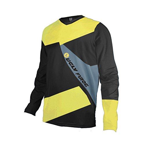 Uglyfrog Long Sleeve Sports Jersey Frühling Motocross Downhill Trikots Enduro Cross Motorrad MTB