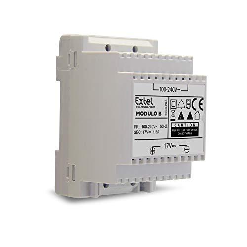 Extel - Modulo di alimentazione per videocitofoni, 17 V