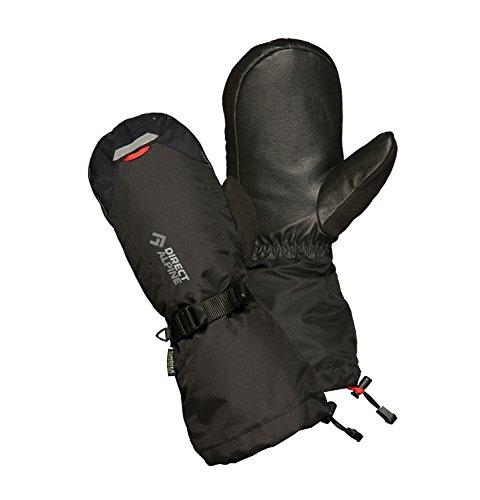 Direct Alpine Herren Thermo Mitt Handschuhe, schwarz, XL