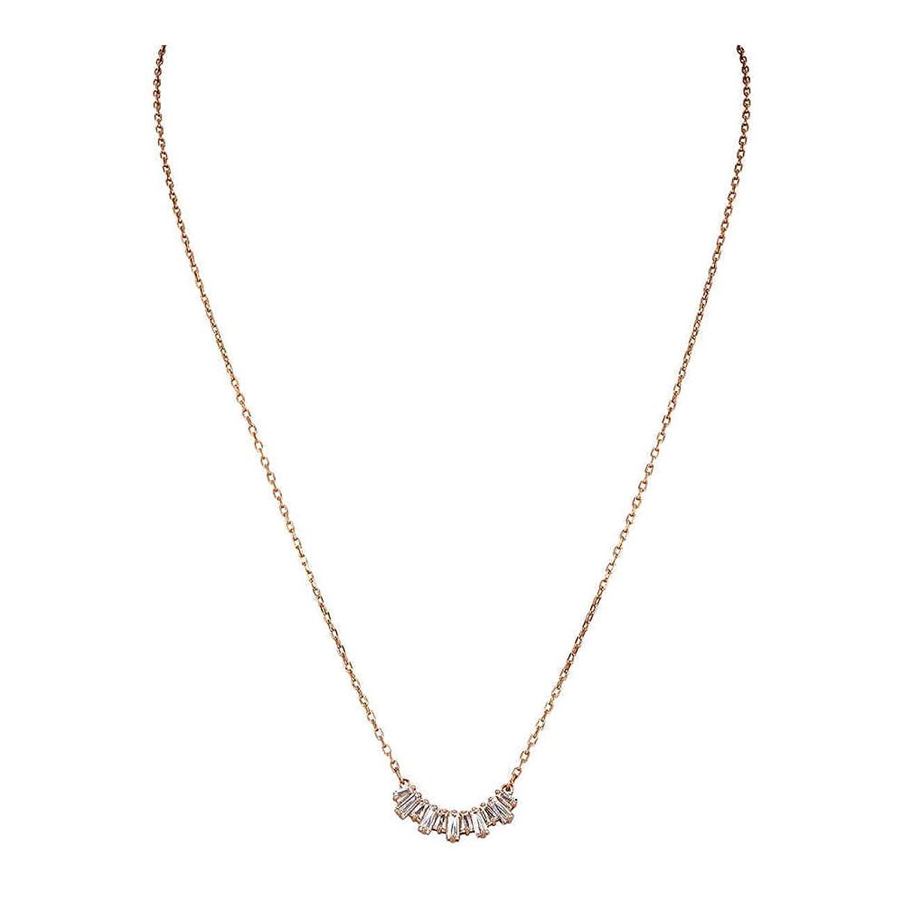 Swarovski Sunshine Necklace, Rose Gold 5459590