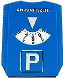 Disco de Estacionamiento con Raspador de Hielo,Indicador del Horario para el Coche Europeo Pantalla de Tiempo de 24 Horas y Raspador de Hielo para Embalaje de Invierno del Automóvil