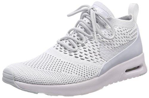 Nike Air MAX Thea Ultra Flyknit, Zapatillas para Mujer, Gris (Pure Platinum/Pure Platinum/White), 38 EU