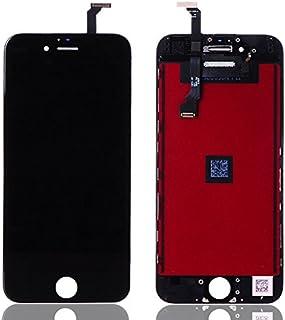 شاشة كاملة خارجية و داخلية لون اسود لاجهزة ايفون 6 بلس ، اسود