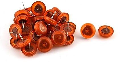 DealMux Rubber Home Office School Meubels Tafelstoel Nail Protector 31 Stks Oranje