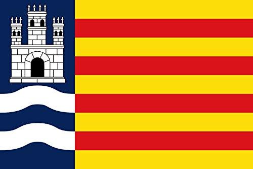 magFlags Bandera Large Propuesta de Bandera de Ibiza Islas Baleares | Bandera Paisaje | 1.35m² | 90x150cm