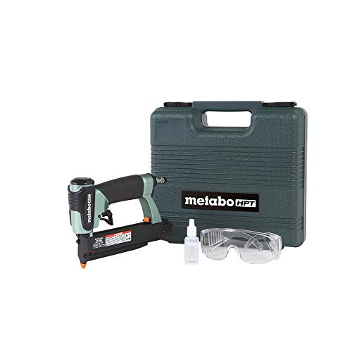 Metabo HPT Pin Nailer Kit, 23 Gauge, Pin Nails - 5/8' to 1-3/8', No Mar Tip - 2, Depth Adjustment, 5-Year Warranty...