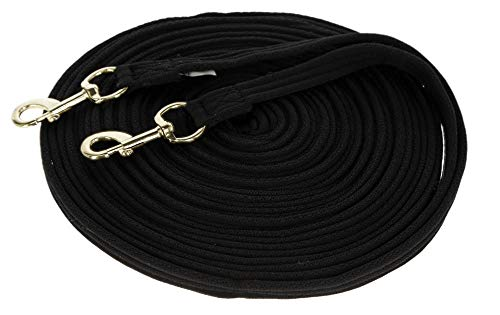 Kerbl Doppellonge Soft schwarz 17m