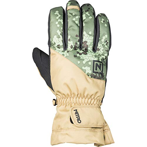 Nitro Snowboards Erwachsene Flight '19 Gloves, Camo, XL