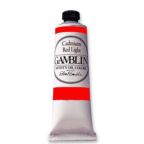 Gamblin Oil Color Cadmium Red Light 150 ml tube