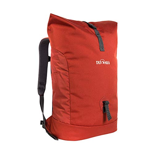 Tatonka Laptop-Rucksack Grip Rolltop Pack - Daypack mit 10-Jahren Produkt-Garantie, Rollverschluss und 15