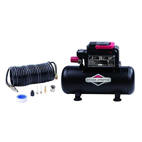 B&S 100341 Air Compressor 3 Gallon Hotdog Tank