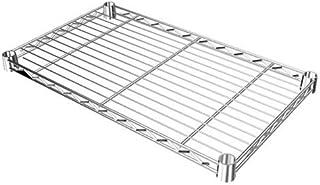 ルミナス ポール径19mm用パーツ 棚板 スチールシェルフ(耐荷重150kg)ワイヤー幅方向 1枚(スリーブ付き) 幅49.5×奥行29.5cm ST5030