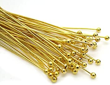 Lot of 100 brass pins for attaching rails oh