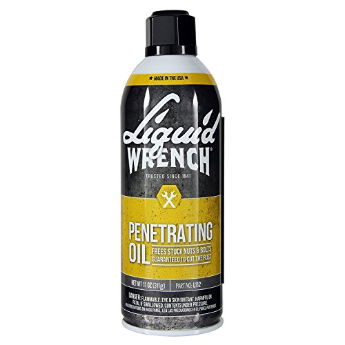 Liquid Wrench Gunk L112/6 Super Penetrant Spray - 11 oz, Gray
