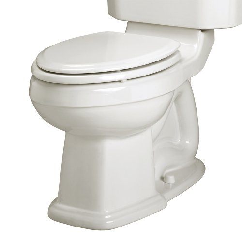 American Standard 3177.016.020 Townsend Champion-4 Right Height Elongated Seatless Toilet Bowl with Bolt Caps, White