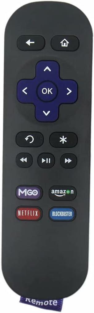 Premium Replace for Roku Remote Control Roku 1 LT HD Roku 2 XD XS 3 4 Media Player