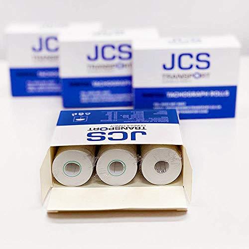Tachograph Rolls for HGV Digital Tachographs by JCS Transport - 3 Boxes x 3 Tacho Rolls (9 Rolls),...