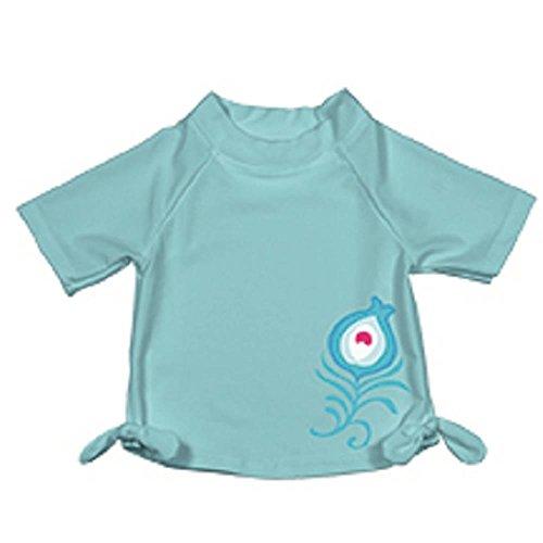 I Play Aqua Maillot de bain à manches courtes pour fille 3-6 mois (4,5-8,0 kg)