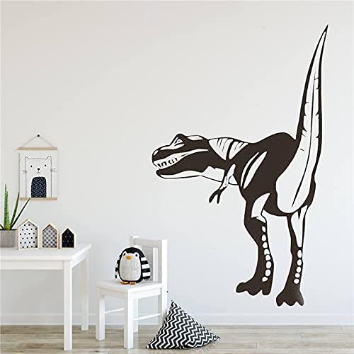 AKmene Adesivi murali Adesivi Decorativi per camerette per Bambini Animali murale in Stile Moderno Poster Dinosauro Carino Decalcomanie 84X130 cm