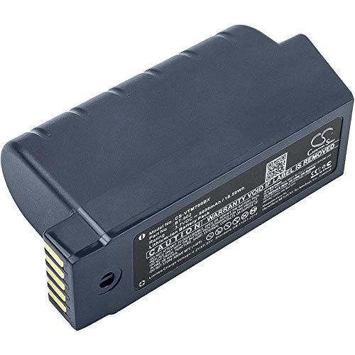 CS-VTM700BX Batteria 5000mAh compatibile con [VOCOLLECT] A700, A710, A720, A730, Talkman A700, Talkman A710, Talkman A720, Talkman A730 sostituisce 730044, BT-902