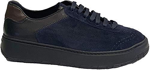 Fratelli Rouge à lèvres Sneakers Camouflage Bleu et Marron - Bleu - bleu, 42 EU EU