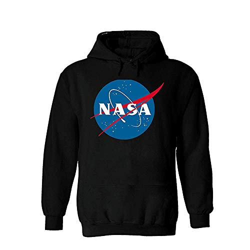 Findom NASA National Space Administration Logo White Men Women Unisex Hooded Sweatshirt Hoodie