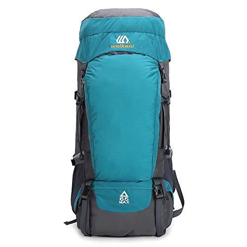 Lixada 65L Large Capacity Water-Resistant Shoulder Outdoor Cycling Bike Riding Backpack Mountain Bicycle Travel Hiking Camping Running Water Bag Men...