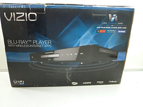 Great Features Of VIZIO VBR210  Blu-Ray Player with Wireless Internet Application, Black