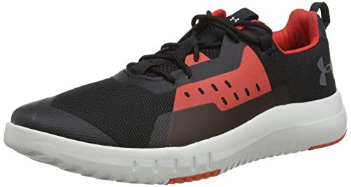 Under Armour Tr96 Zapatillas Deportivas para Interior Hombre, Negro (Black/Gray Flux/Pitch Gray...