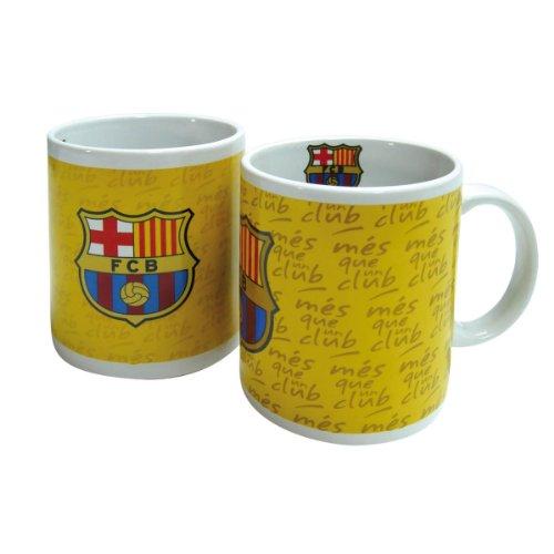 FC Barcelona Kaffee Tasse Glühwein Becher Tee Tasse Mes que un club 2014