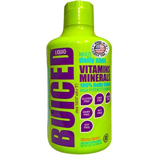 BUICED Liquid Daily Multivitamin for Men &...