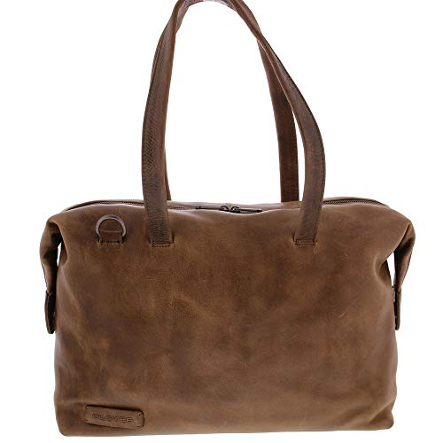 Plevier Caithness dames laptoptas 15.6 inch taupe