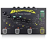 Guitar Looper Pedal BOOMERANG III Phrase Sampler - 4 Serial Play Styles Loop Station - Multi Effects Loop Pedal for Electric Guitar and Bass - Fits on Small Guitar Pedal Board - Pro Loop Machine