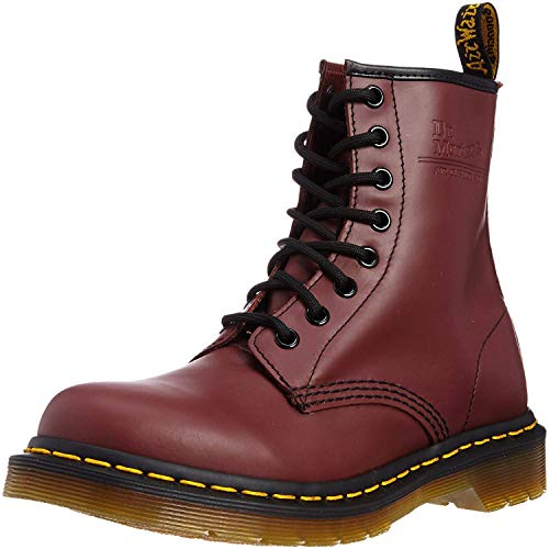 Dr. Martens 1460 Originals 8 Eye Lace Up Boot, Cherry Red Smooth, 11UK / 12 US Mens, 46 EU