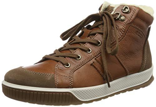ECCO Herren Byway TRED Hohe Sneaker, Braun (Cocoa Brown/Cognac/Coffee 51673), 43 EU