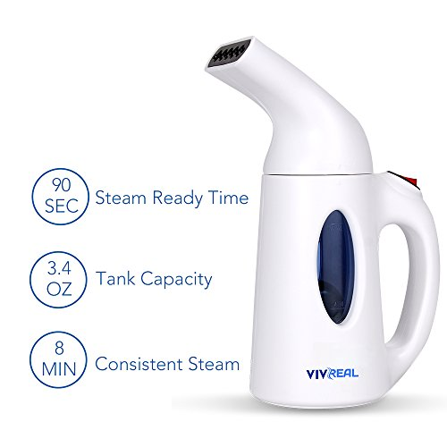 Clothes Steamer - Handheld Garment Steamer with...