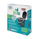 BranQ - Home essential - BioToi, Biologisches Präparat für BranQ Mobile Campingtoilette 15,5 und 22 Ltr., Latrinen und Trockentoiletten , Aerobe und anaerobe Bakterien + Enzyme, 5x25g