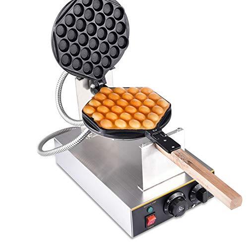 Professionelle elektrische Bubble Waffle Maker Maschine Kommerzielle Hong Kong Eggettes Waffle Baker Eisen Antihaft 0-250 ℃ Temperatur einstellbar