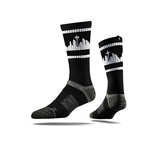 Seattle City Skyline Retro Black &a…