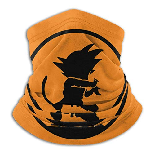 Classic Dragon Ball - Calentador de cuello de forro polar para invierno, resistente al viento, para hombre y mujer
