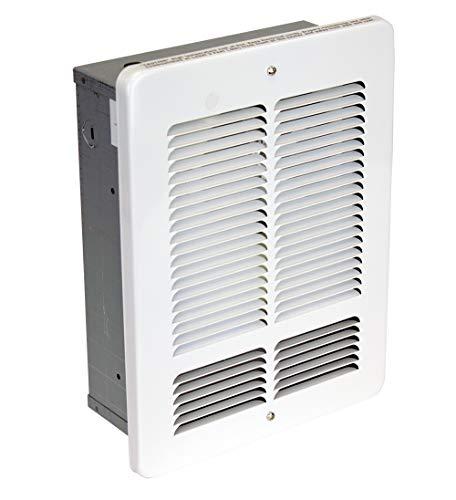 KING W2415-W W Series Wall Heater, 1500W / 240V, White