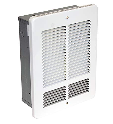 KING W1215-W W Series Wall Heater, 1500W / 120V, White
