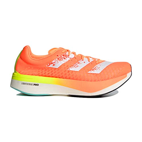 adidas Adizero Adios Pro, Zapatillas para Correr Hombre, Screaming Orange/FTWR White/Core Black, 48 EU