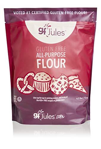 gfJules Gluten Free All Purpose Flour 4.5 Pound Pouch, Perfect GF Alternative to Regular Flour, Great Tasting Customer Favorite